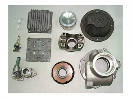 Aluminum Parts by Casting
