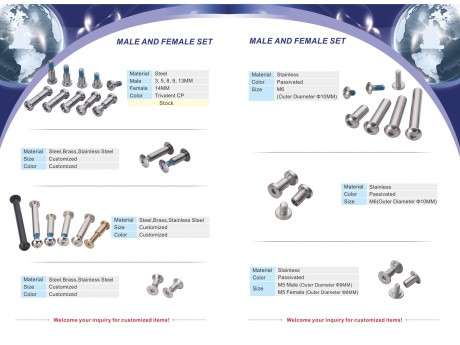 SCREW, STUD, BOLT, NUT