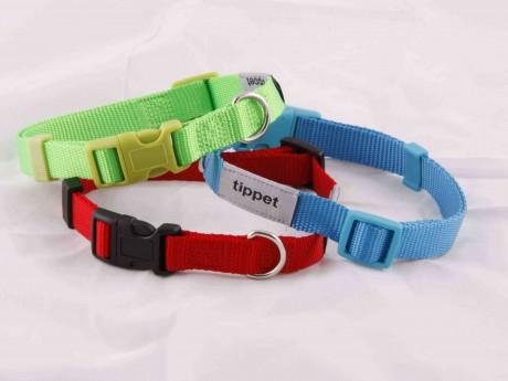Dog Collar, Nylon Adjustable Dog Collar