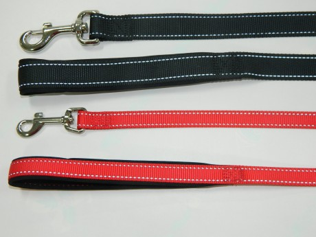 Dog Lead, Comfortable Nylon Reflective Dog Leash