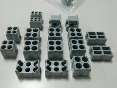 Plug set for container